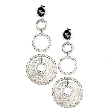 Frederic Duclos  Sterling Silver Galleria Earrings