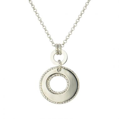 Frederic Duclos  Sterling Silver Jenny Necklace